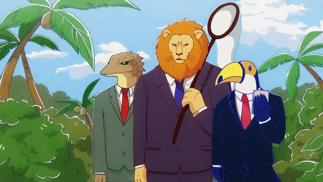 「アフリカのサラリーマンアニメ1話」の画像検索結果