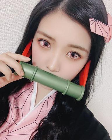 NMB48貞野遥香が「鬼滅の刃」でコスプレ初挑戦