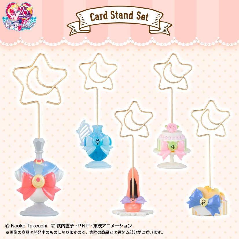 美少女戦士セーラームーン カードスタンドセット」セーラー5戦士セット 7,020円(
