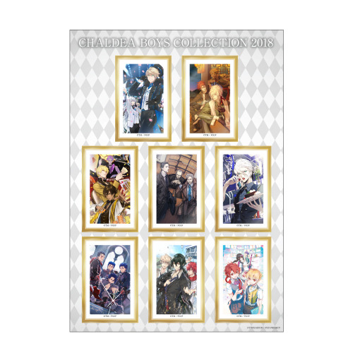 「A4ステッカー CBC2018 ver.」500円(税抜)(C)TYPE-MOON / FGO PROJECT