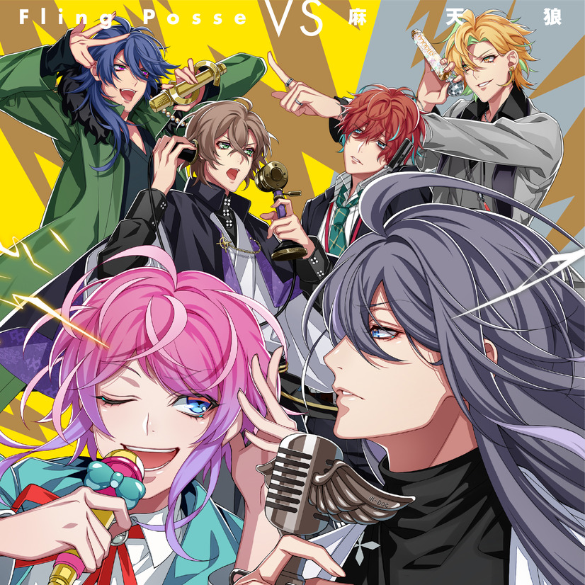 2nd Battle CD「Fling Posse VS 麻天狼」1,852円(税別)(C)King Record Co., Ltd. All rights reserved