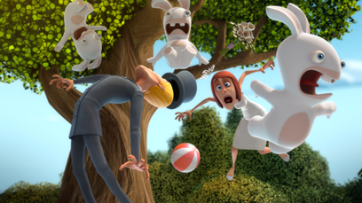 TVアニメ『ラビッツ インベージョン』(C) 2018 Ubisoft Motion Pictures Rabbids. All Rights Reserved.