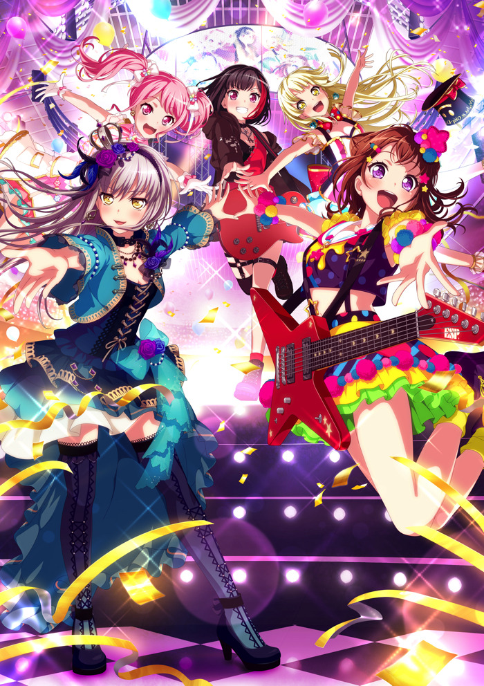『バンドリ!ガールズバンドパーティ!』(C)BanGDream! Project (C)Craft Egg Inc. (C)bushiroadAll Rights Reserved.