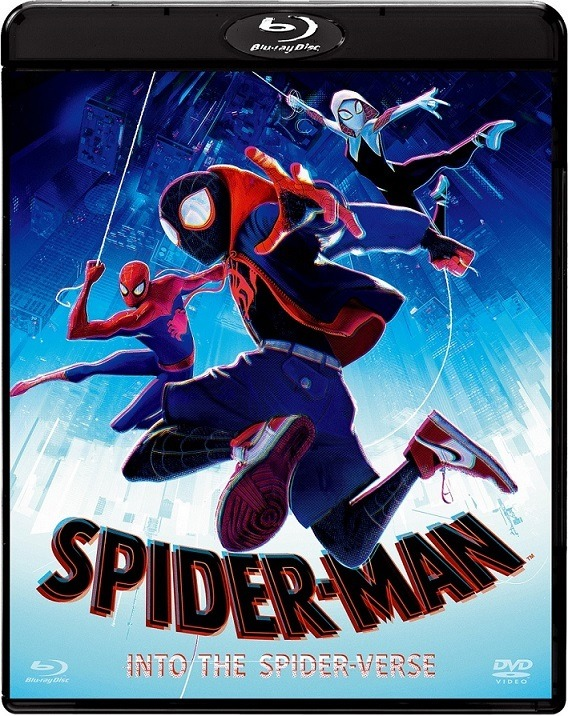 映画『スパイダーマン:スパイダーバース』BD&DVDセット(C)2018 Sony Pictures Animation Inc. All Rights Reserved. | MARVEL and all related character names:(C)& TM 2019 MARVEL.