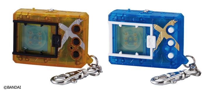 「デジタルモンスターX Ver.3 イエロー/ブルー」各3,850円(税込/送料・手数料別途)(C)BANDAI