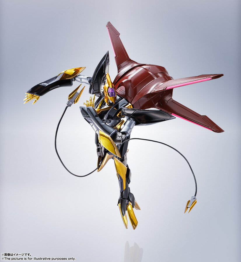 「METAL ROBOT魂<SIDE KMF> 蜃気楼」14,300円(税込)(C)SUNRISE/PROJECT L-GEASS Character Design (C)2006-2017 CLAMP・ST