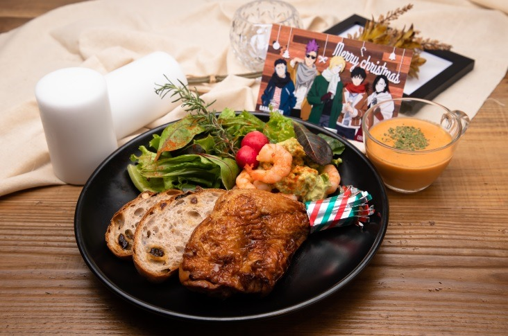 「BANANA FISH Cafe and Bar - winter in NY -」NYクリスマスディナー  1,990円