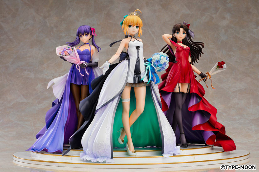 「セイバー 遠坂凛 間桐桜 ~15th Celebration Dress Ver.~ Premium Box」40,909円(税別)(C)TYPE-MOON