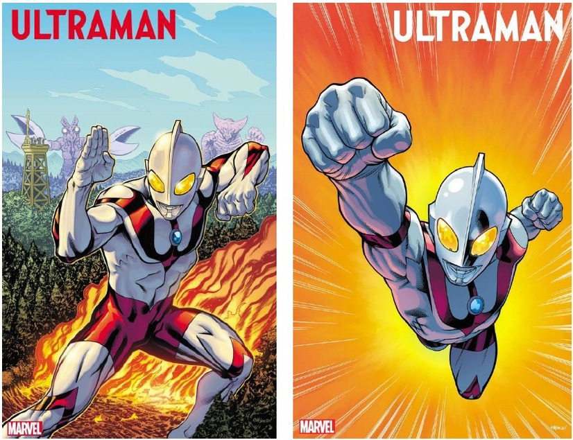 『THE RISE OF ULTRAMAN』Ultraman artwork by Ed McGuinness and Matthew Wilson(C)2020 MARVEL(C)TSUBURAYA PRODUCTIONS Co., Ltd.