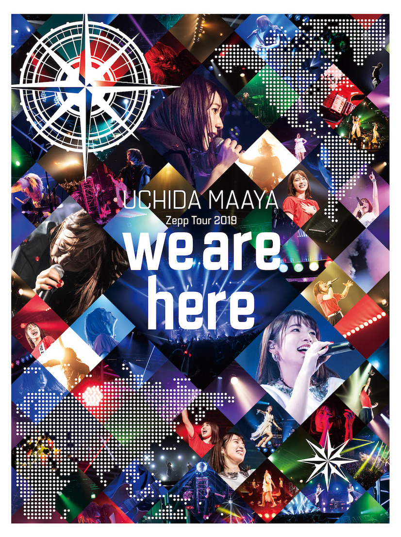 Blu-ray&DVD「Zepp Tour 2019『we are here』」BD:7,800円(税抜)/DVD:6,800円(税抜)
