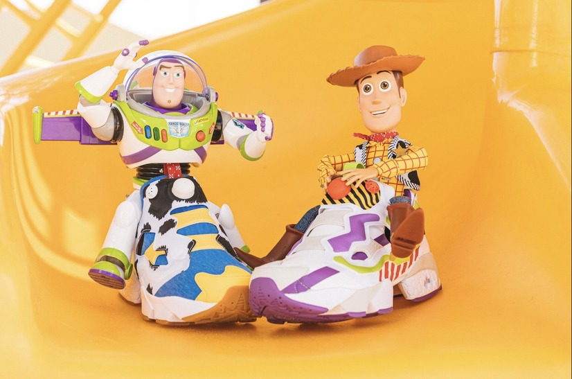 「Buzz & Woody Instapump Fury」28,000円(税抜)(C)Baitme.jp. All Rights Reserved.(C)Disney