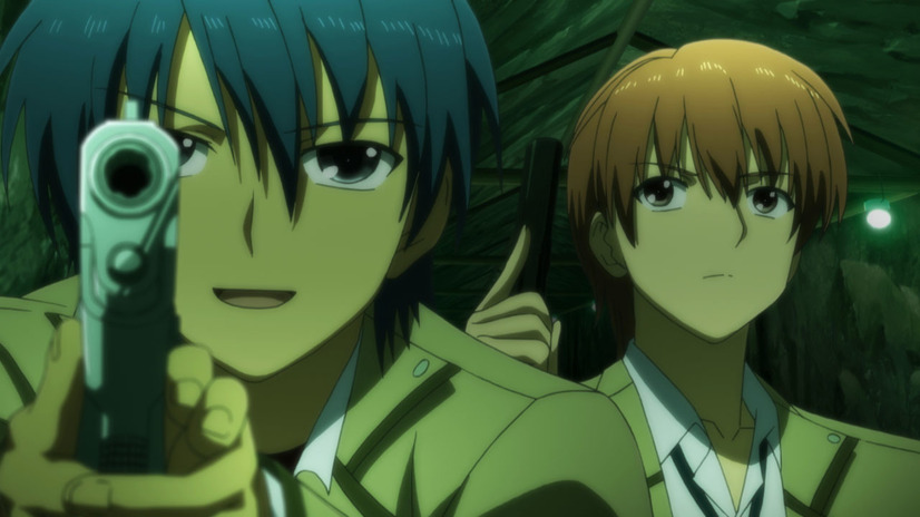 『Angel Beats!』第2話・場面写真(C)VisualArt's/Key(C)VisualArt's/Key/Angel Beats! Project