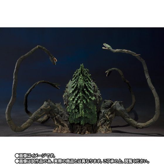 「S.H.MonsterArts ビオランテ Special Color Ver.」30,800円(税込)TM & (C) TOHO CO., LTD.