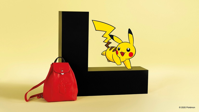 「Longchamp x Pokemon」(C)2020 Pokemon.(C)1995-2020 Nintendo/Creatures Inc./GAME FREAKinc.TM,(R), and character names are trademarks of Nintendo