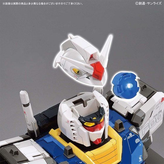 「1/48 RX-78F00 ガンダム [BUST MODEL]」5,280円(税込)(C)創通・サンライズ