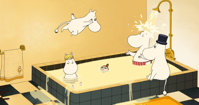 劇場版ムーミン 南の海で楽しいバカンス』-(C) 2014 Handle Productions Oy & Pictak Cie (C) Moomin Characters TM