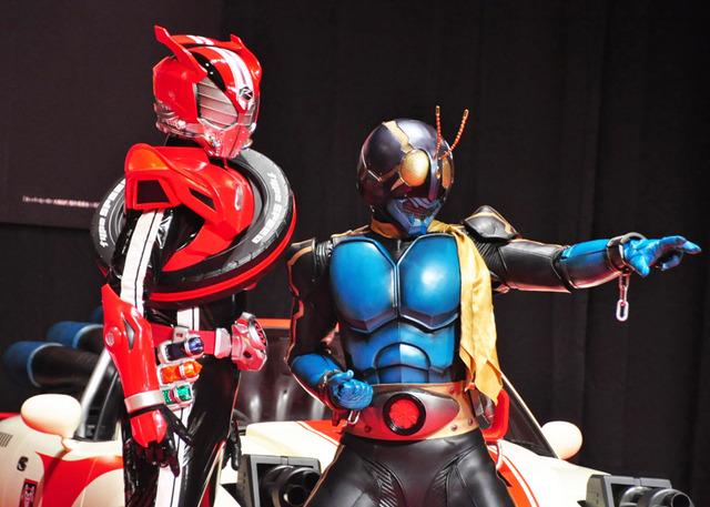 幻の仮面ライダー3号は及川光博に 唐沢寿明だけにこっそり漏らす 8枚目