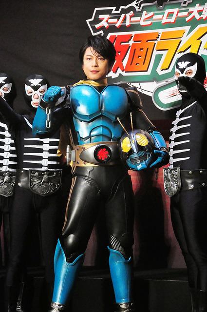 及川光博 仮面ライダー3号のスーツを装備 ラストは泣けます 宣言 13
