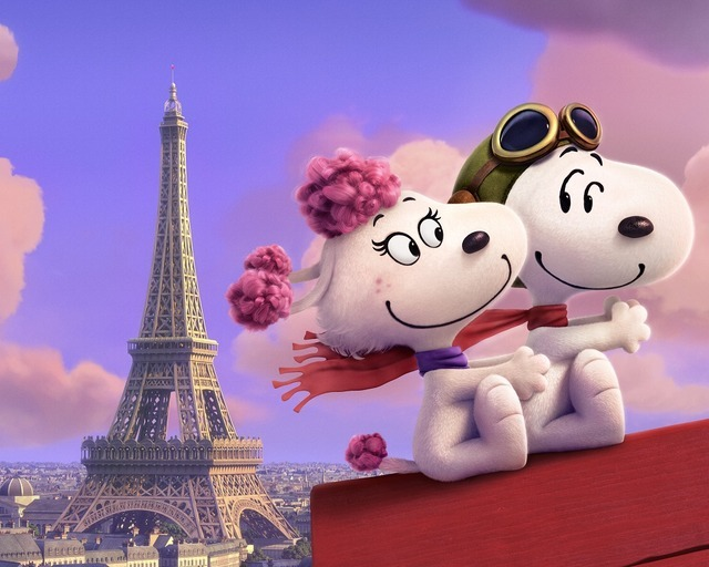 『I LOVE スヌーピー THE PEANUTS MOVIE』本ポスター (C) 2015 Twentieth Century Fox Film Corporation. All Rights Reserved.(C) 2014 Peanuts Worldwide LLC