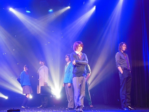 舞台『薄桜鬼SSL~sweet school life~THE STAGE』(C)2015 IF・DF / 舞台「薄桜鬼SSL ~sweet school life~」製作委員会