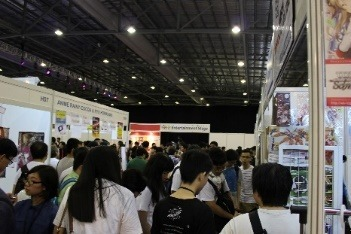 「CharaExpo 2015」の模様(c)bushiroadAll Rights Reserved. (c)C3 CharaExpo2016CommitteeAllrightsreserved