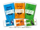 ナルト、カカシ、サスケの新ビジュアルがコミックカバー「劇場版NARUTO」の前売券特典
