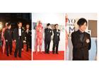 梶裕貴さん、巨人くんレッドカーペットに登場 東京国際映画祭を「進撃の巨人」が進撃
