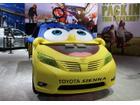 「スポンジ・ボブ」が乗り移った!? トヨタ シエナ をカスタム LAモーターショー14に登場