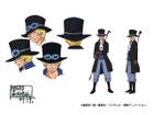 """これが""""サボ""""のアニメビジュアル 「ONE PIECE」ポータルサイトがサボジャック!設定画も初公開"""
