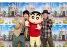 今度の「映画クレヨンしんちゃん 」主題歌は、ゆず「OLA!!」に決定