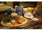 ペネロペが渋谷タワレコカフェに ぬいぐるみに囲まれた癒し空間でおいしいご飯