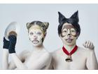 パトラッシュとラスカルの顔になれる 「友達 フェイスパック」 3月11日発売