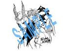 荒川弘が描く「七つの大罪」、鈴木央が描く「アルスラ―ン戦記」 日5アニメでコラボイラスト