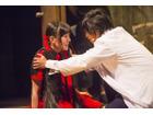 舞台「BLOOD-C~The LAST MIND~」奥行きのある映像、立体感のあるステージ