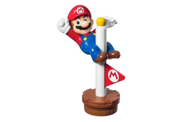 マリオとゴールポール(C)Nintendo Licensed by Nintendo