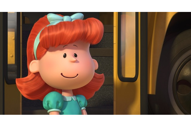 """赤毛の女の子""/『I LOVE スヌーピー THE PEANUTS MOVIE』本ポスター (C) 2015 Twentieth Century Fox Film Corporation. All Rights Reserved.(C) 2014 Peanuts Worldwide LLC"