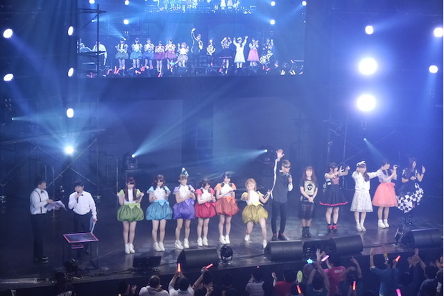 奥井雅美、三森すずこ、i☆Risたちが熱唱!【アニソンCLUB! AnimeJapan前夜祭】 画像