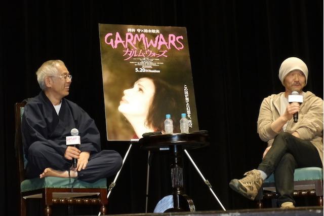 押井守×鈴木敏夫が早大生へ語る、映画と「ガルム・ウォーズ」への思い 画像