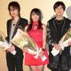 「ハンガー・ゲーム」完結編が遂に公開 水樹奈々、神谷浩史、前野智昭が舞台挨拶に集結 画像