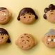 「ちびまる子ちゃんドーナツ」映画公開で発売 まる子からおじいちゃんまで 画像