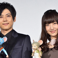 「GAMBA ガンバと仲間たち」完成披露舞台挨拶 梶裕貴、神田沙也加が喜びの声 画像