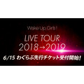 Wake Up, Girls!「Wake Up, Girls! LIVE TOUR 2018→2019」開催告知(C)Green Leaves / Wake Up, Girls!3製作委員会
