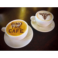 "「""GINO THE CAFE""in TOWER RECORDS CAFE」GINO THE CAFE 特製ノブチーノ 750 円 (C)PSYCHO-PASS Committee"