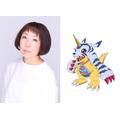 ガブモン役・山口眞弓(C)本郷あきよし・東映アニメーション