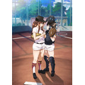 TVアニメ『球詠』ティザービジュアル(C)マウンテンプクイチ・芳文社/新越谷高校女子野球部