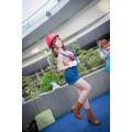 【コスプレ】「コスサミ2019」美女レイヤーが夏衣装で魅惑! マリオ、レムら人気キャラ勢揃い【写真147枚】