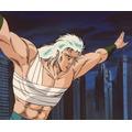 第2部風雲龍虎編「さらばレイ!時代は勇者の伝説を語り継ぐ」(C)武論尊・原哲夫/NP・東映アニメーション 1987