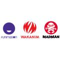 米国拠点のFunimation、フランス拠点のWakanim、オーストラリア拠点のMadman Anime Group
