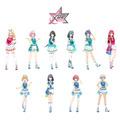 真田幸之助がプロデュースする 10 人組アイドルグループ。『X-UC(てんゆーし)』