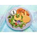 「セーラームーンカフェ2019」 カレンな乙女のブランチパンケーキ 1,590円(C)武内直子・ PNP ・東映アニメーション